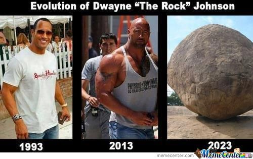 Evolution Of Dwayne Johnson