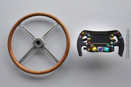 Evolution Of The Formula 1 Steering Wheel