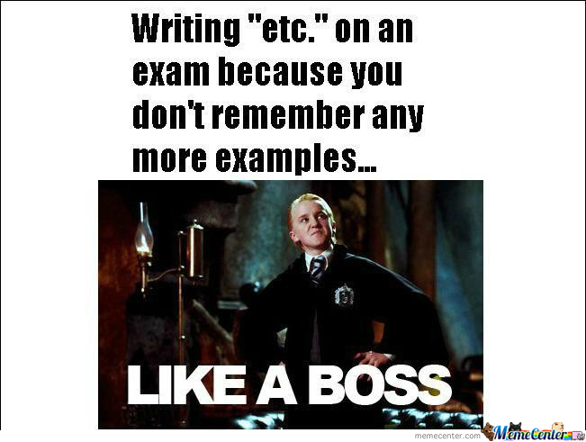 Exam Like A Boss