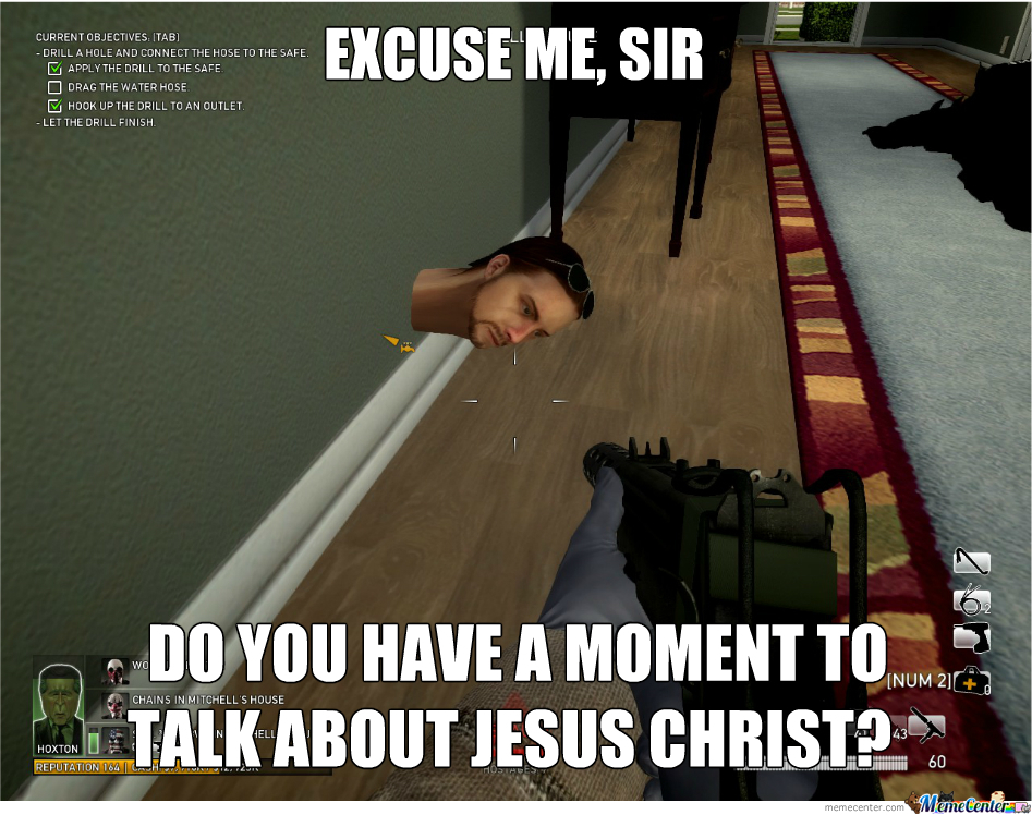 Excuse Me Sir!