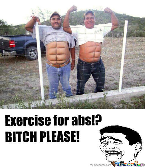 Exercise, Yeah Right