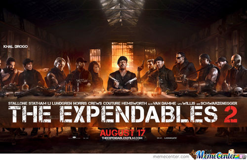 Expendables 2... Wait. What?