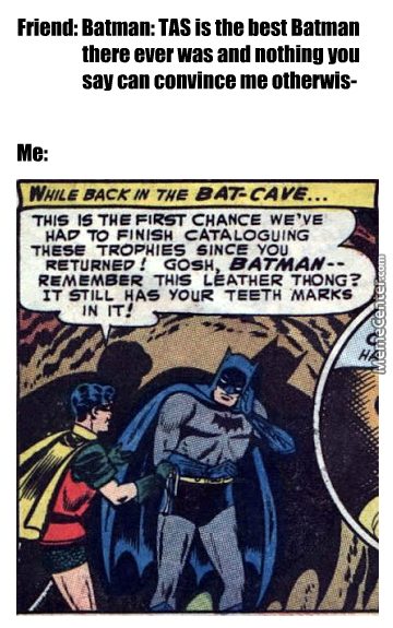 Explain That Batman