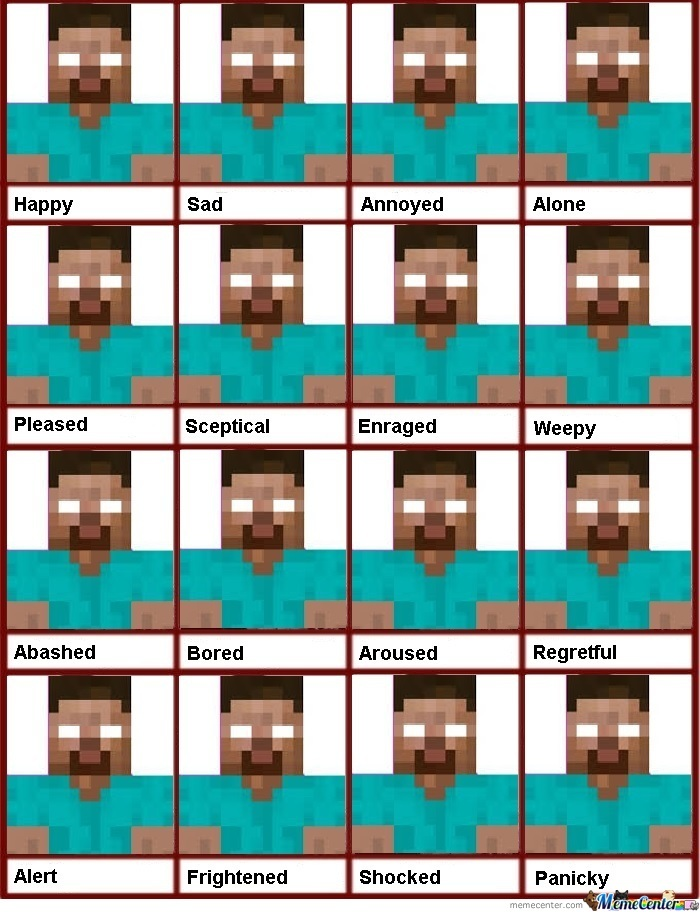 Expressions Of Herobrine