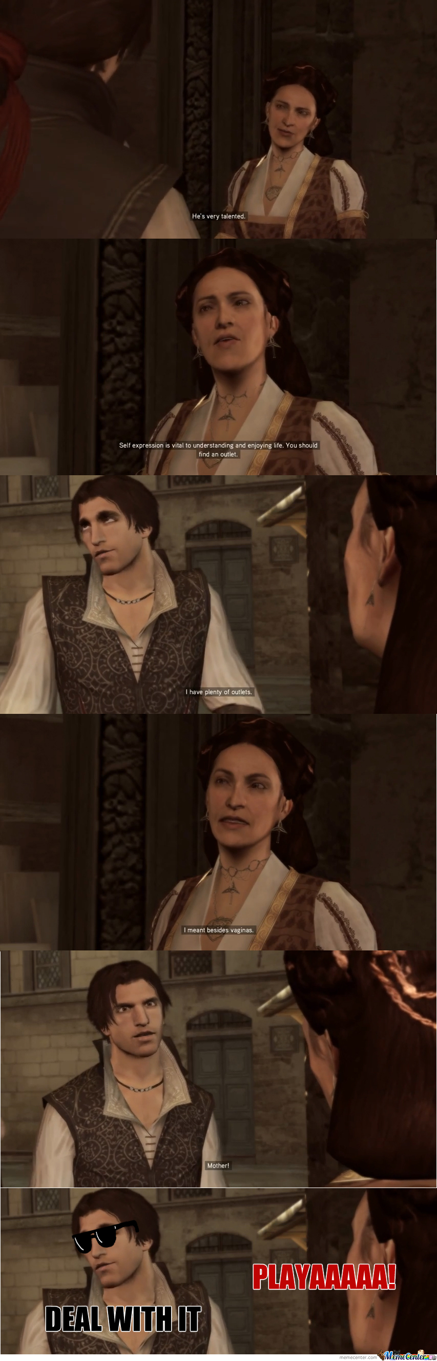 Ezio Is A Player !