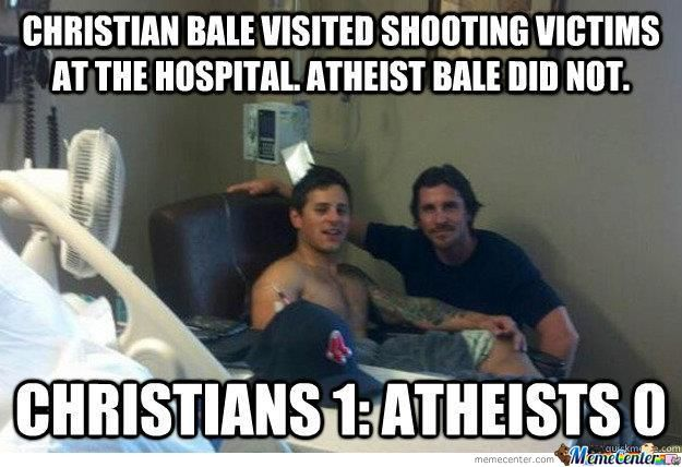 F**k You Atheist Bale