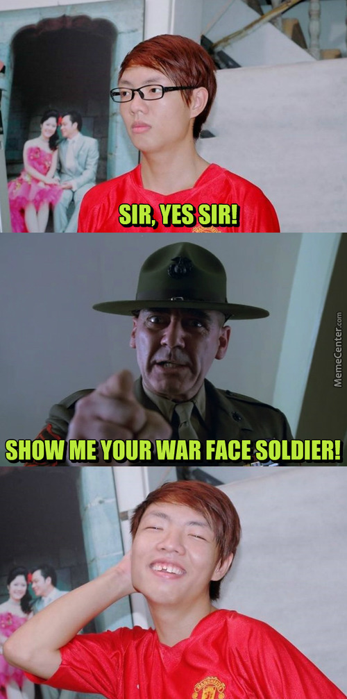 Fabulous War Face Is Fabulous