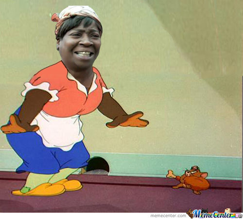 Face Mammy Two Shoes (Tom And Jerry)