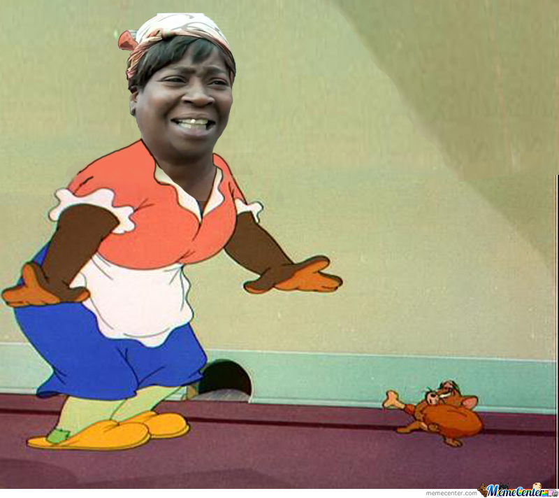Face Mammy Two Shoes (Tom And Jerry) by hadie.azazel ...