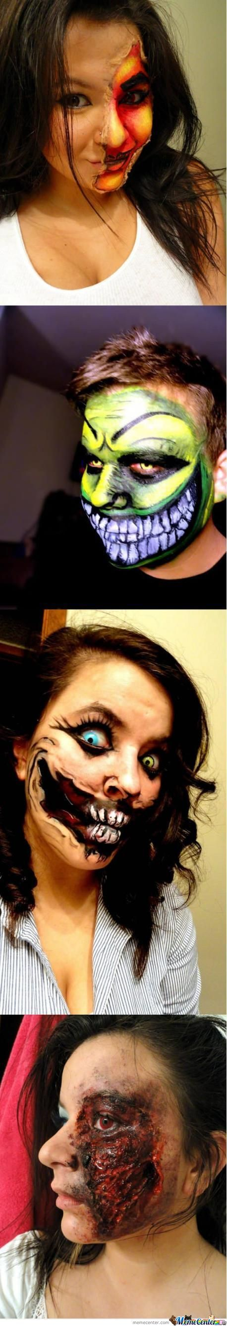 Face Painting For Halloween