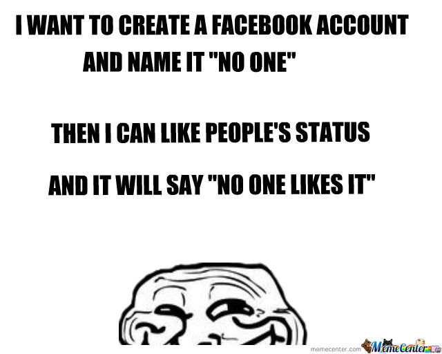 Facebook Account: No One Likes It