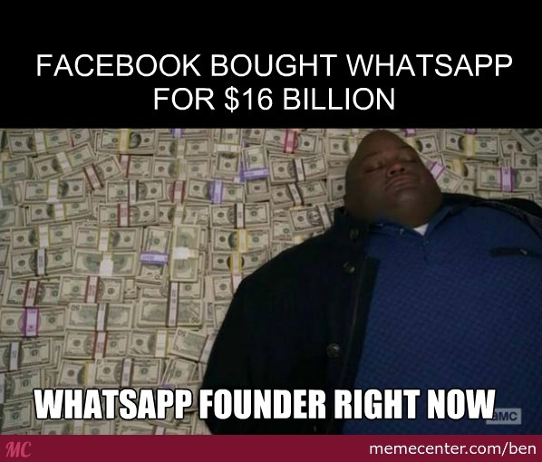 Facebook Bought Whatsapp For $16Billion
