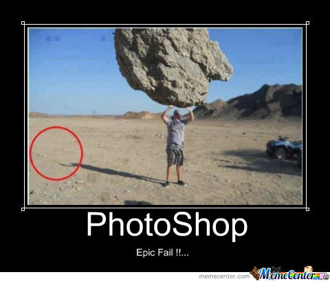 Fail Photoshop