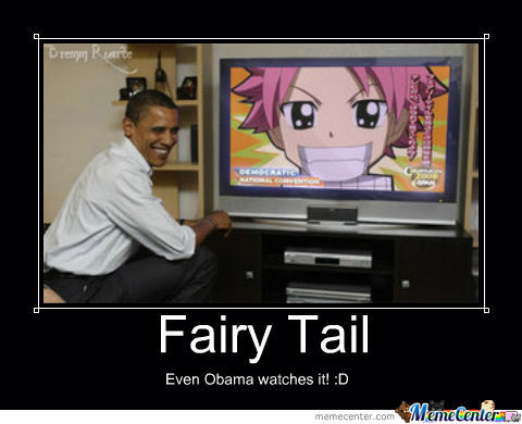 Fairy Tail And Obama