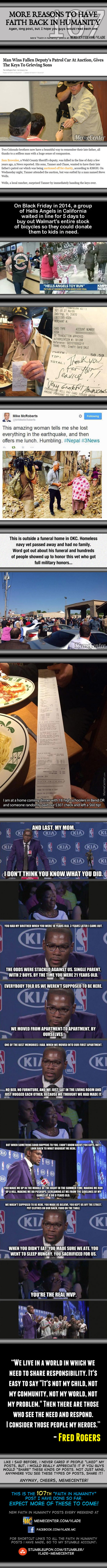 Faith In Humanity #107