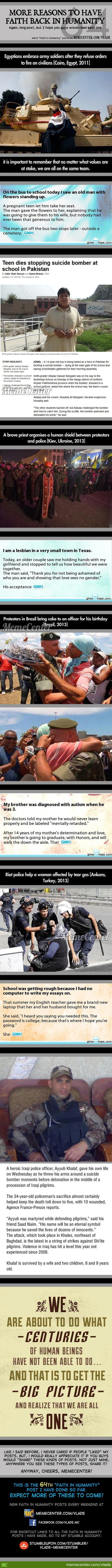 Faith In Humanity #64