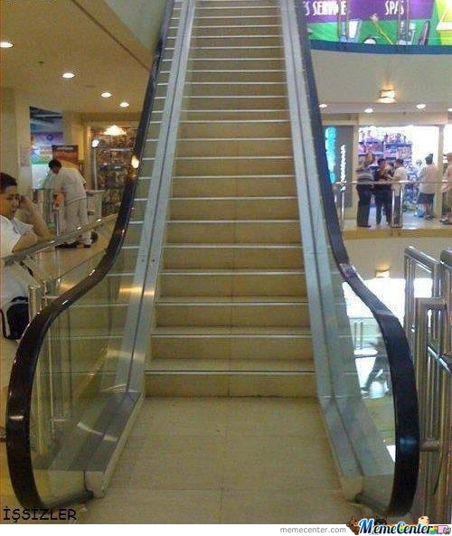 Fake Escalator