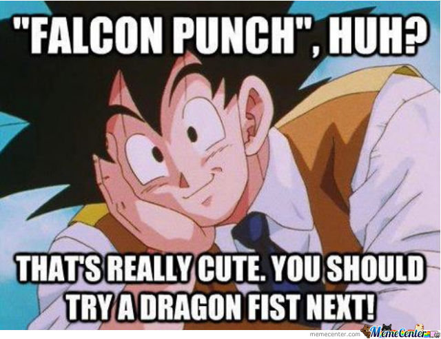 Falcon Punch Huh