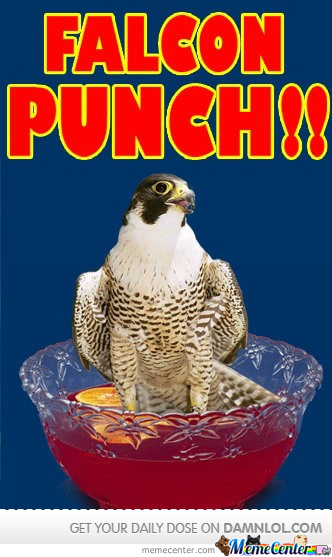 Falcon Punch Punch!