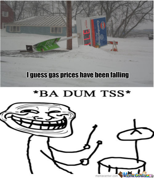 Falling Gas Prices...