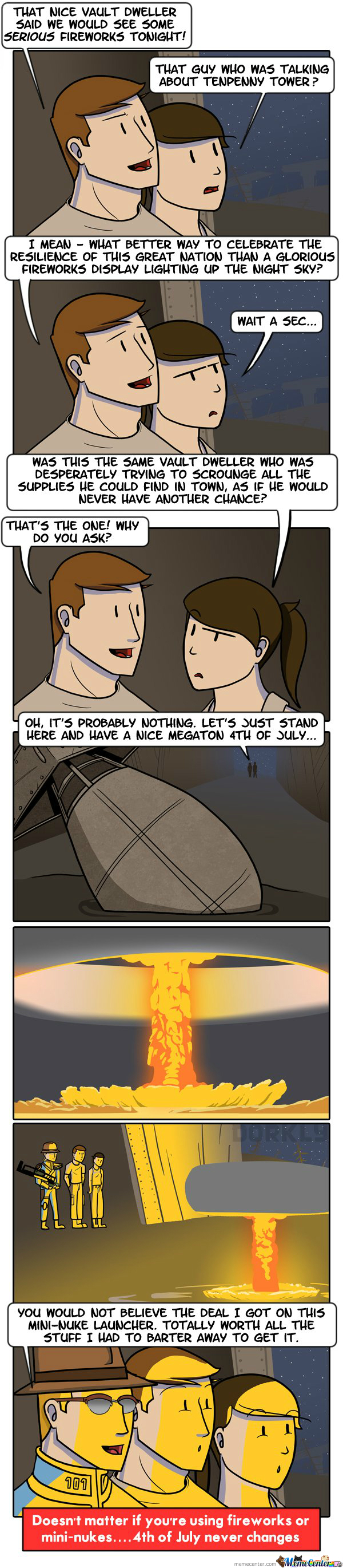 Fallout Fireworks - Dorkly