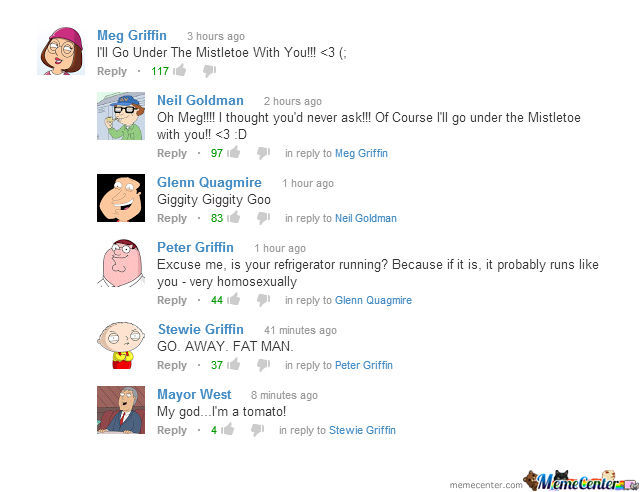 Family Guy On Youtube
