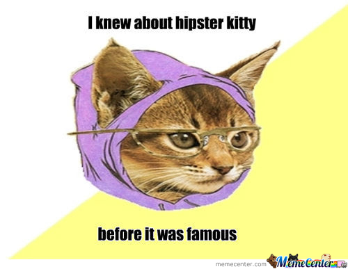 Famous Hipster Kitty
