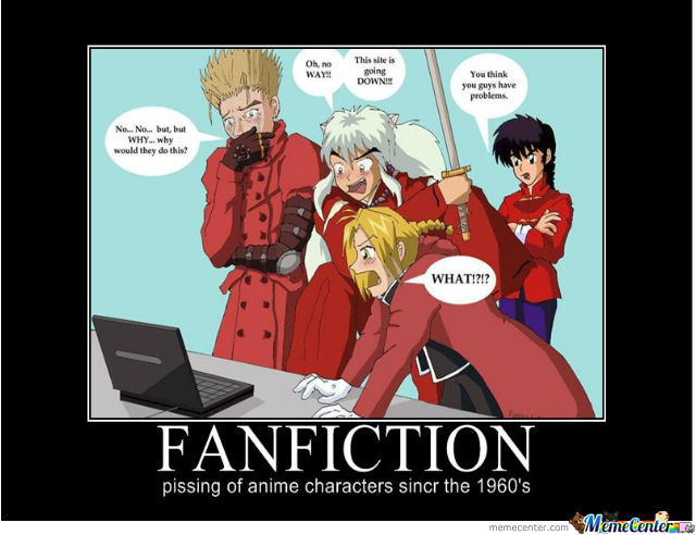 Fan Fiction Hehehe