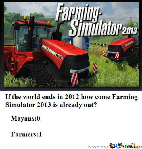 Farming Simulator......