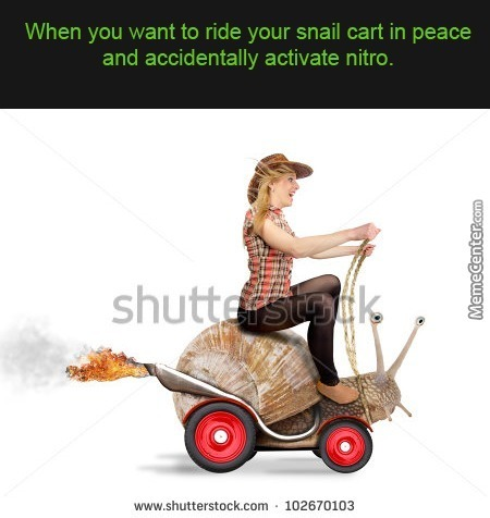 Fast And The Furious 8: Rise Of The Snail Cart
