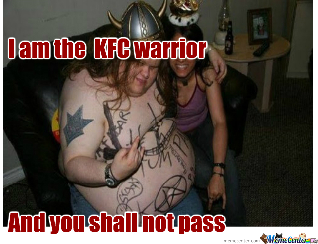 Fast Food Warrior