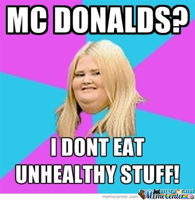 Fat Chick - Mc Donalds