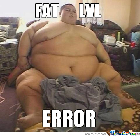 Fat Level Error