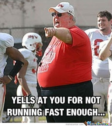 Fat Sport Teacher