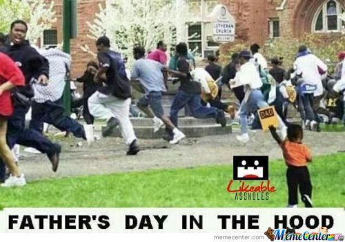 Fathers Day In The Hood
