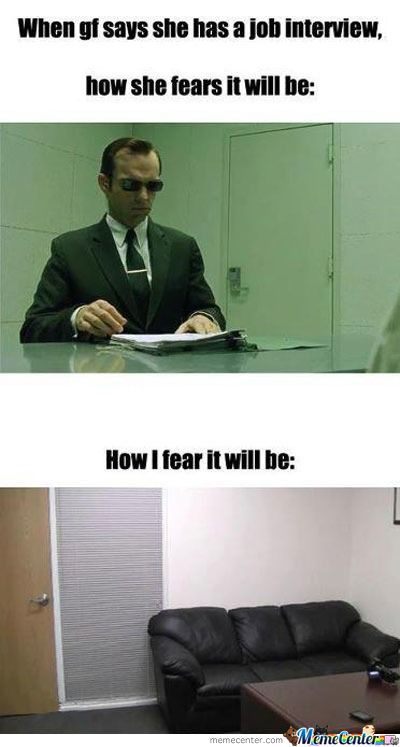 Fear Of Interview