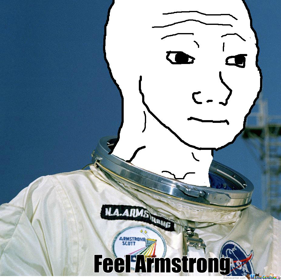 Feel Armstrong Had No Gf