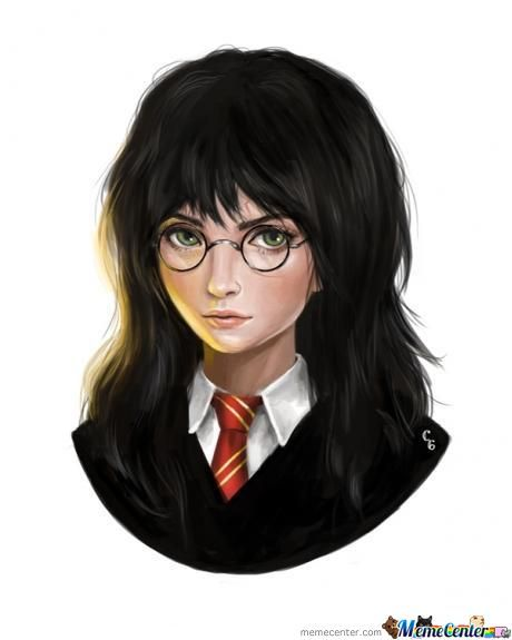 Female Harry Potter