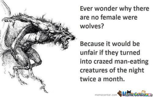Female Werewolves