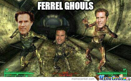Ferrel Ghouls. Get It? Yeah...