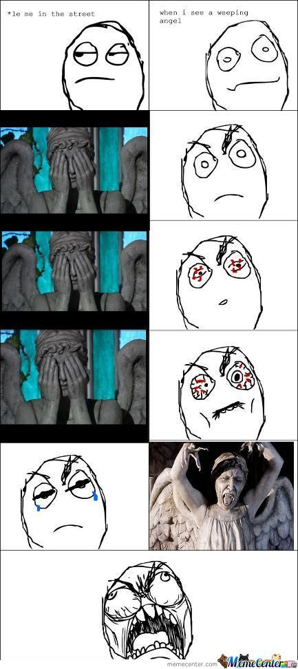Fffuuu Weeping Angel!