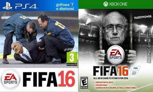 Fifa 16 Covers Released Featuring Sepp Blatter