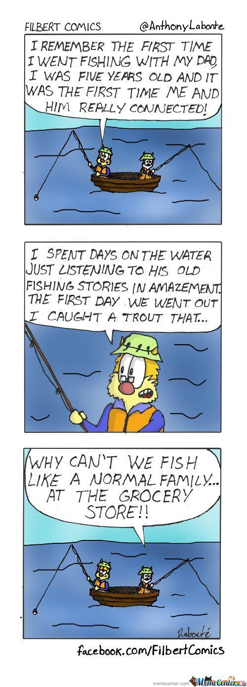 Filbert's Fishing