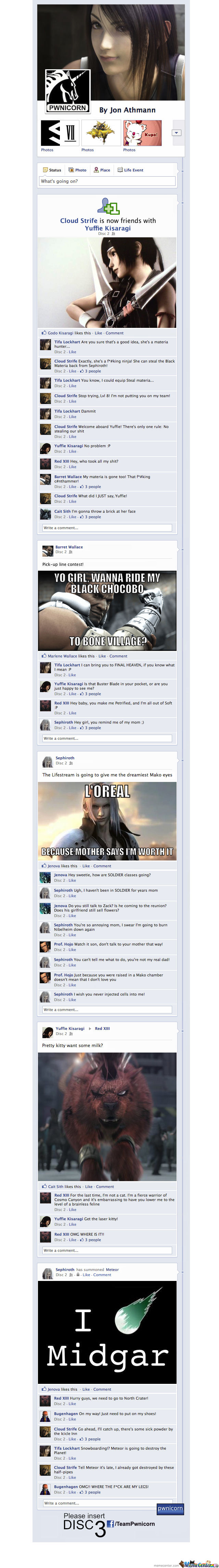 Final Fantasy On Facebook (Disc 2)