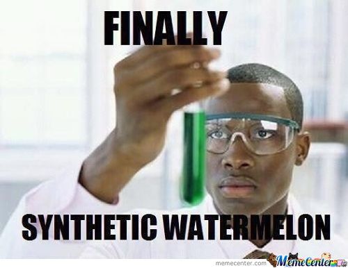 Finally Synthetic Watermelon