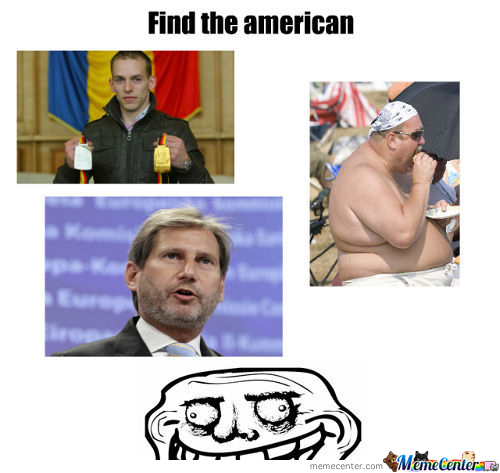 Find The American