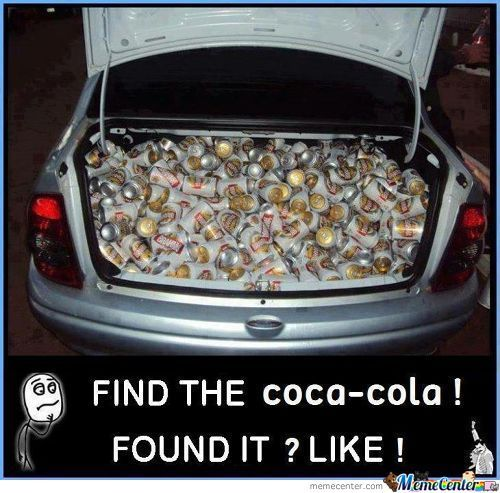 Find The Coca Cola!