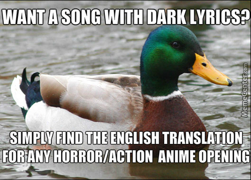 Finding A Song With Dark Lyrics..