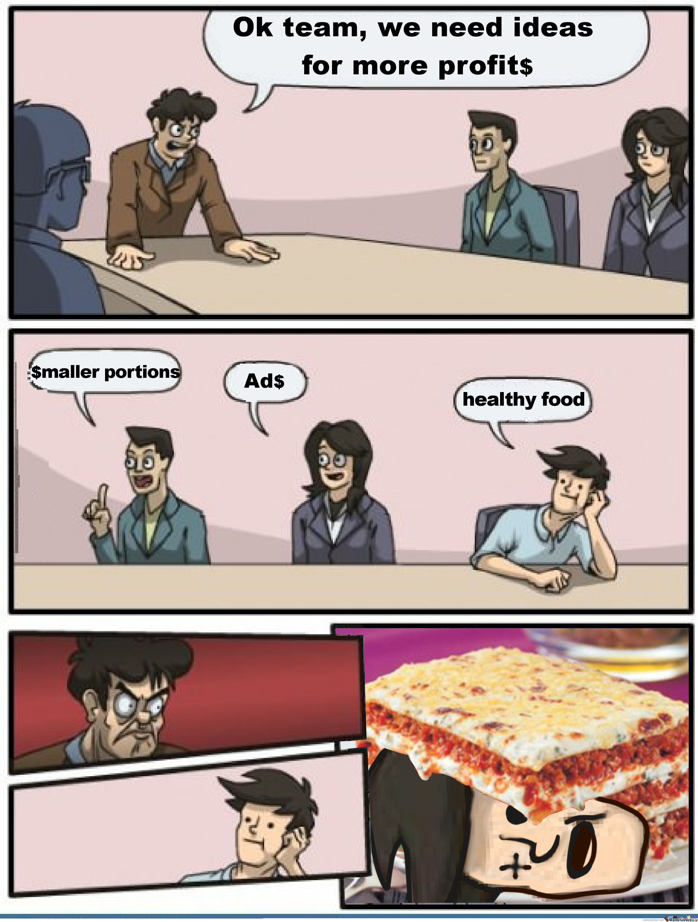 Findus Boardroom Suggestion