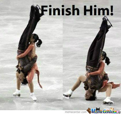 Finish Him (Skating Addition)